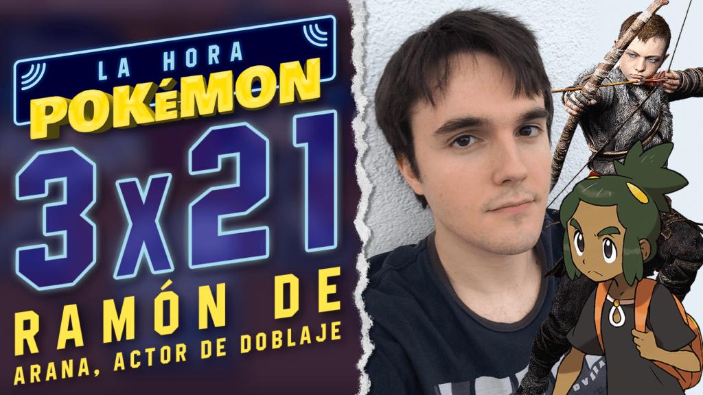 Ya puedes ver el nuevo programa de La Hora Pokémon con Ramón de Arana, la voz de Tilo en Pokémon Sol y Luna