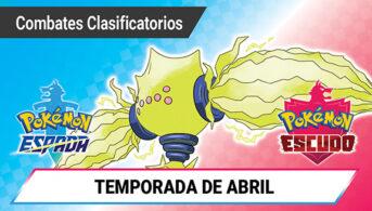 abril combate clasificatorio pokémon espada escudo