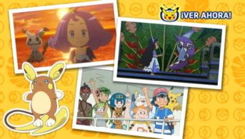 alola tv pokemon episodios contra los kahuna y dominantes