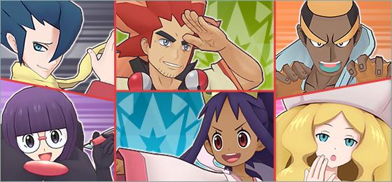 Pokémon Masters cuenta con nuevos reclutamientos destacados y el alto mando de Teselia
