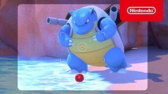 blastoise anuncio new pokemon snap