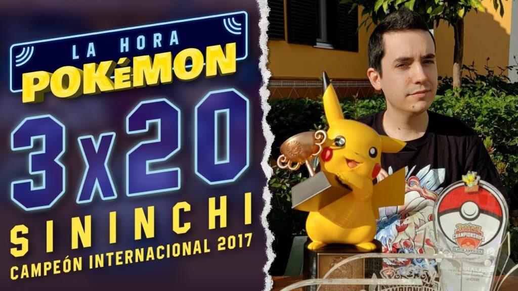 """Ya puedes ver el nuevo programa de La Hora Pokémon con el invitado Pedro """"Sininchi"""""""