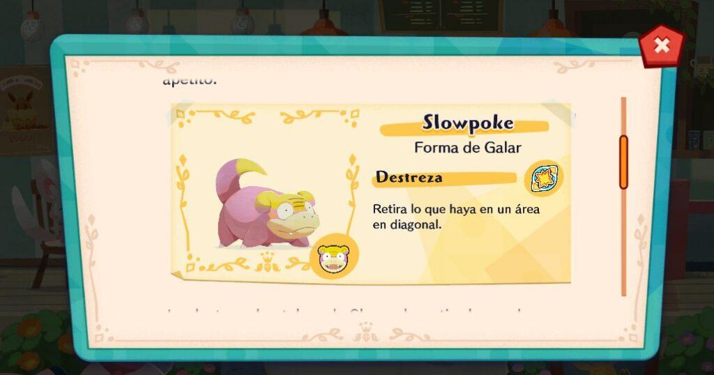 Slowpoke de Galar regresará de forma temporal a Pokémon Café Mix