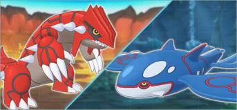 Groudon y Kyogre, Pokémon Masters (2)