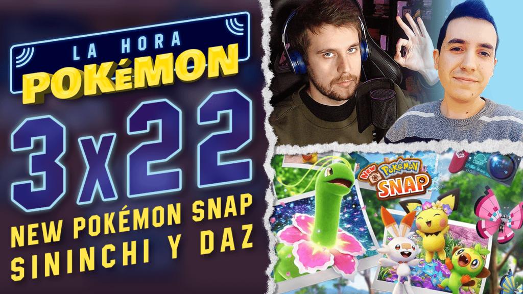 Ya puedes ver el nuevo programa de La Hora Pokémon especial lanzamiento New Pokémon Snap