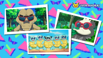 Pokémon con gafas de sol en TV Pokémon