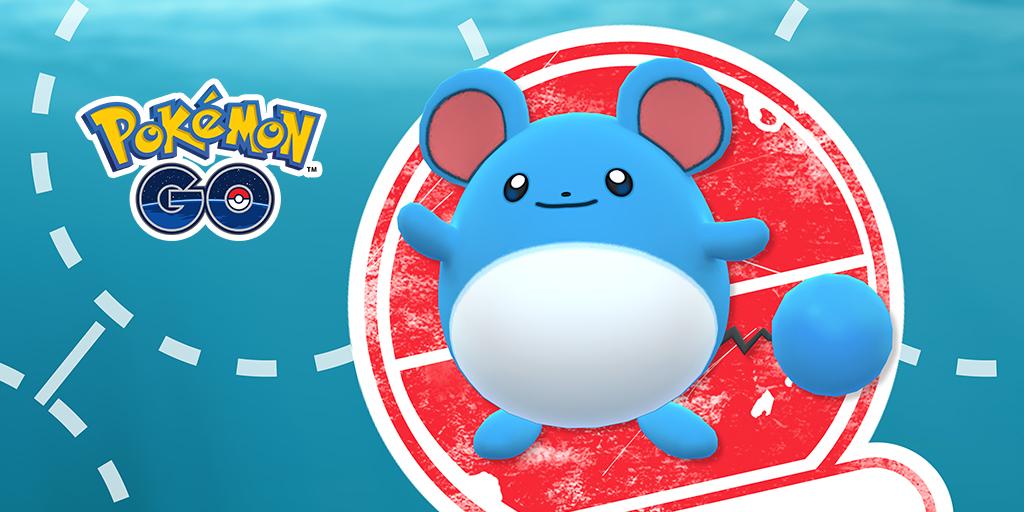 Pokémon GO ha anunciado un evento de investigaciones con Marill de protagonista