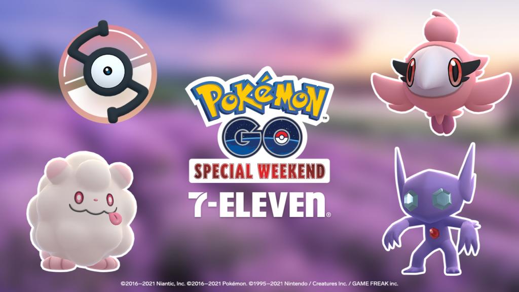 7-Eleven y Pokémon GO celebrarán un evento especial de fin de semana este mes de mayo