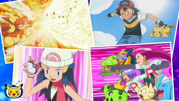 Ya disponible de forma temporal en TV Pokémon la temporada de Diamante y Perla