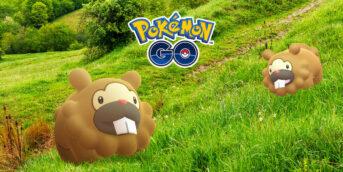 Bidoof en Pokémon GO