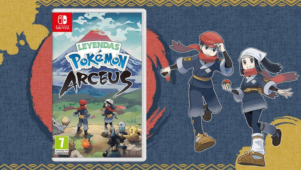 ¿Dónde puedo reservar Leyendas Pokémon: Arceus en España?