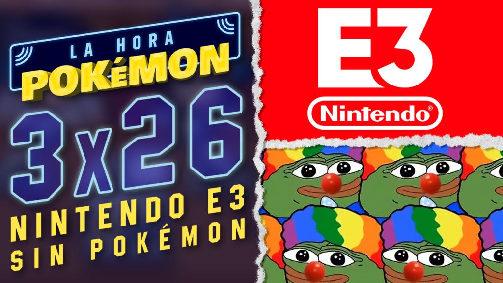 Ya puedes ver el nuevo programa de La Hora Pokémon comentando y resumiendo el E3 de Nintendo