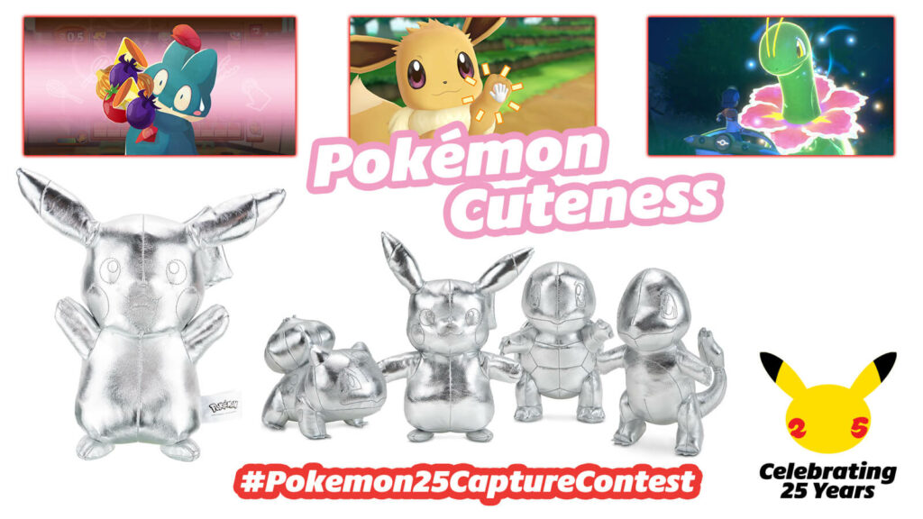 Nintendo Europa está organizando un sorteo mensual de Pokémon mediante Twitter