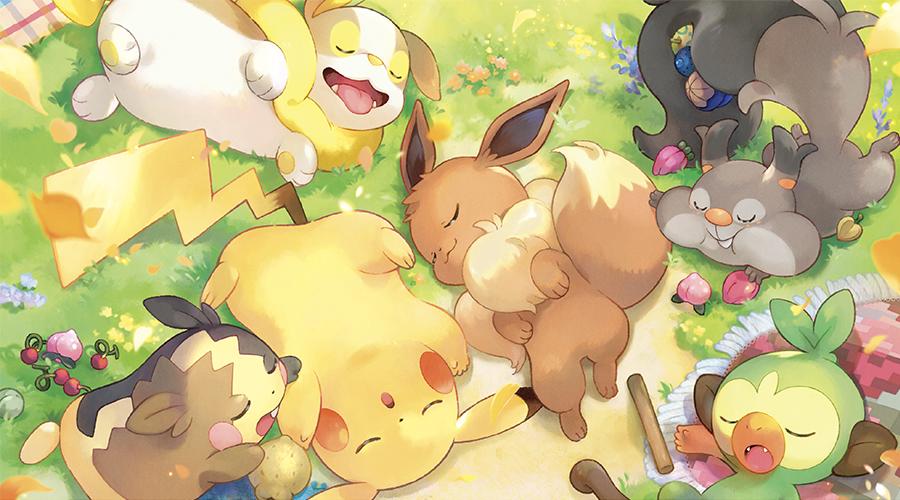 Anunciada una nueva colección de merchan protagonizado por Pokémon dormidos y descansando