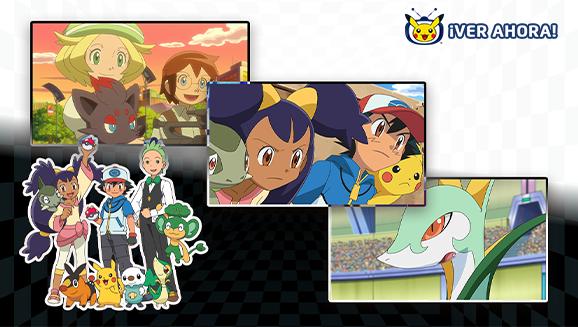Nuevos episodios en TV Pokémon con Ash, Iris y Millo en Teselia