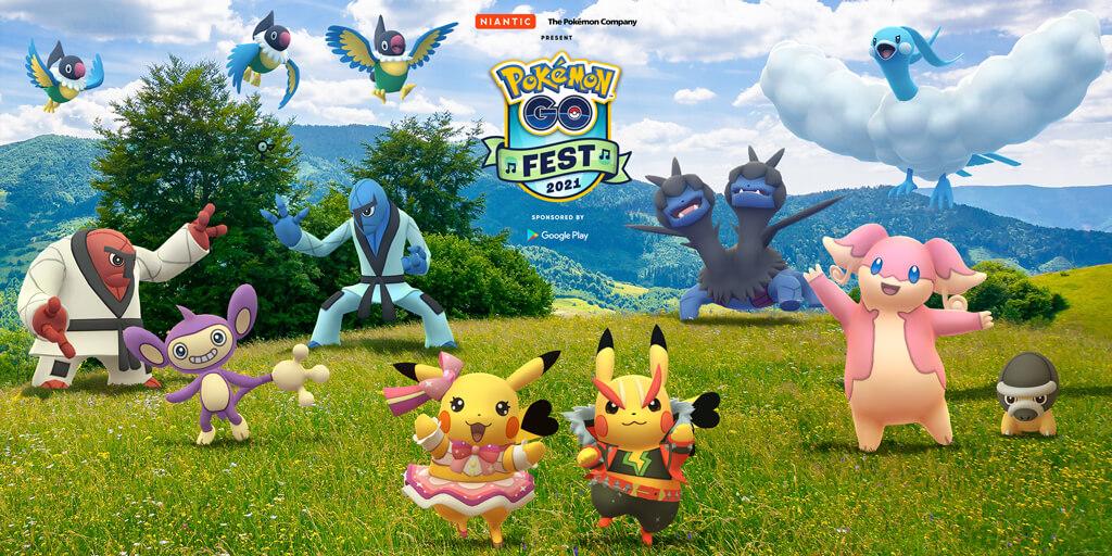 Información de los nuevos vídeos que irán publicando con motivo del Pokémon GO Fest 2021