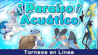 torneo paraíso acuático pokémon espada y escudo