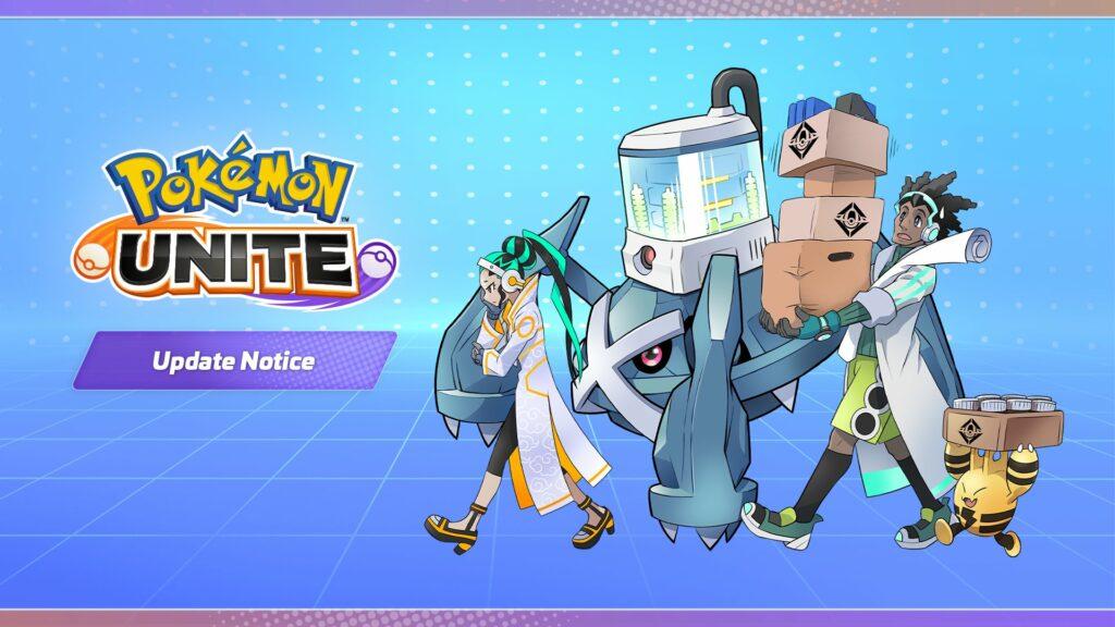 Pokémon UNITE recibirá mañana día 8 de septiembre una actualización