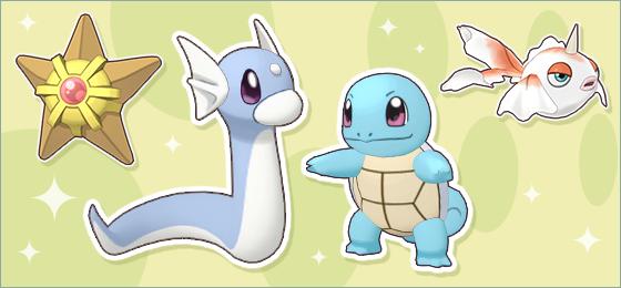 Evento de Huevos de tipo Dragón y Agua en Pokémon Masters EX