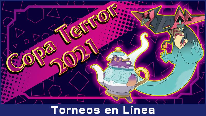 Anunciada la Copa Terror 2021 en Pokémon Espada y Pokémon Escudo