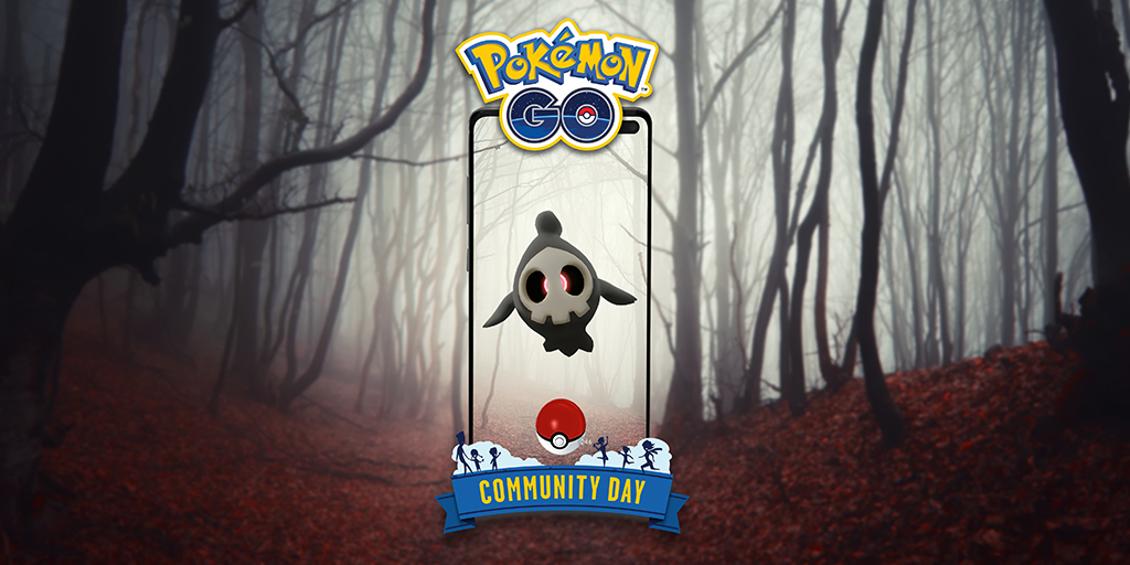 Duskull protagonizará el Día de la Comunidad de Pokémon GO en octubre