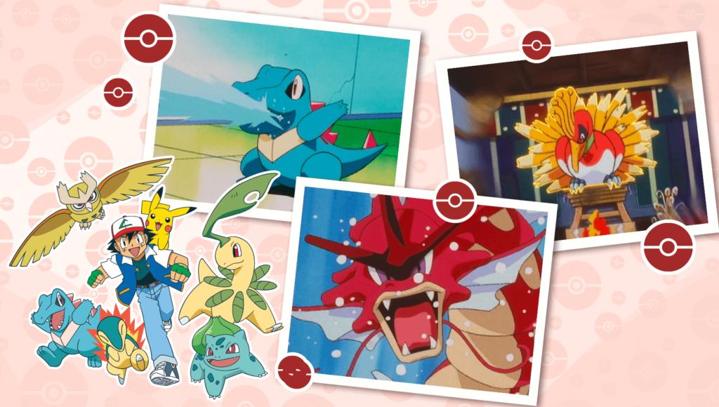 Nueva recopilación de episodios del anime de Johto en TV Pokémon