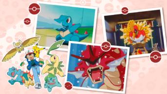 johto recopilación pokémon anime