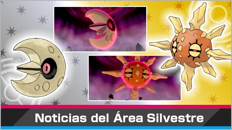 Nuevo evento de Incursiones Dinamax con Solrock y Lunatone en Pokémon Espada y Escudo