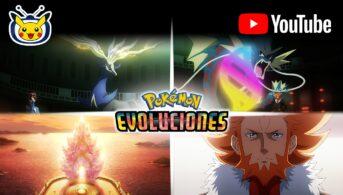 El visionario pokémon evoluciones 3