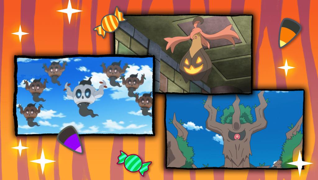 TV Pokémon ha publicado una nueva recopilación del anime con episodios de Halloween