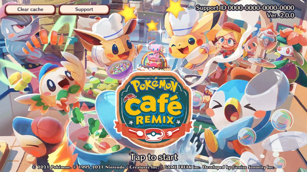 Pokémon Café ReMix ya está disponible para todos los jugadores en Switch, Android e iOS