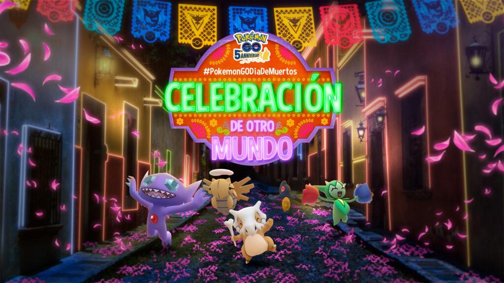 Pokémon GO ha anunciado el evento Pokémon GO Día de muertos con muchos fantasmas y flores