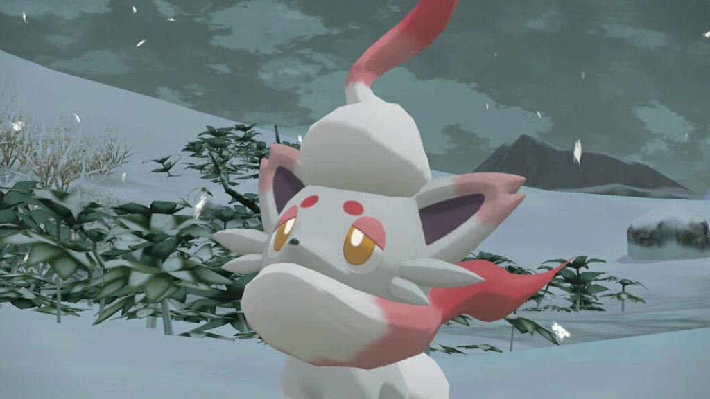 Nueva información sobre Zorua de Hisui y Zoroark de Hisui en Leyendas Pokémon: Arceus