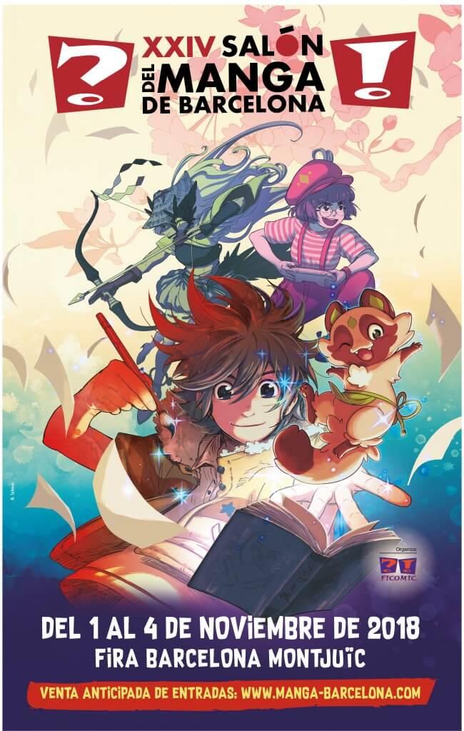 ¡Ven con nosotros al XXIV Salón del Manga de Barcelona!