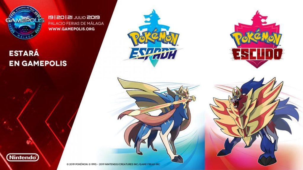 La demo de Pokémon Espada y Pokémon Escudo será jugable en Gamepolis
