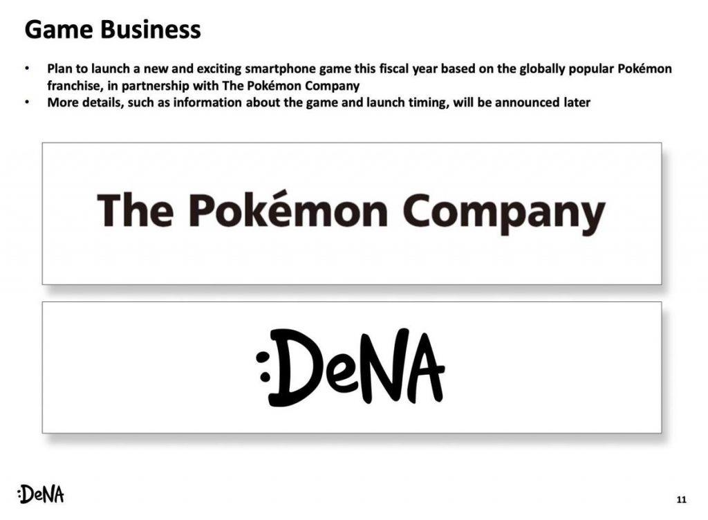 The Pokémon Company y DeNa anuncian la llegada de un nuevo juego Pokémon para smartphones