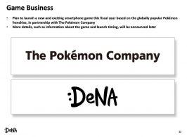 DeNa juego de Pokémon