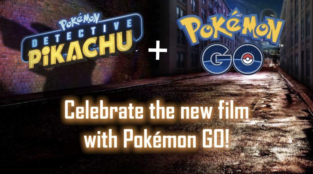Nuevo evento en Pokémon GO celebrando la nueva película POKÉMON Detective Pikachu