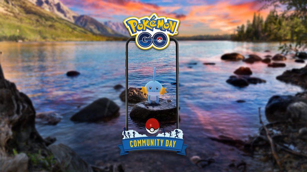 Información sobre Mudkip en el próximo Día de la comunidad de Pokémon GO