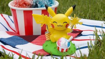 Funko-Pop-Pikachu-sparking up a celebration