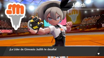 Judith lider pokemon espada