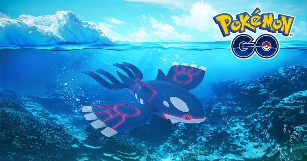 Guía básica sobre Kyogre para Pokémon GO