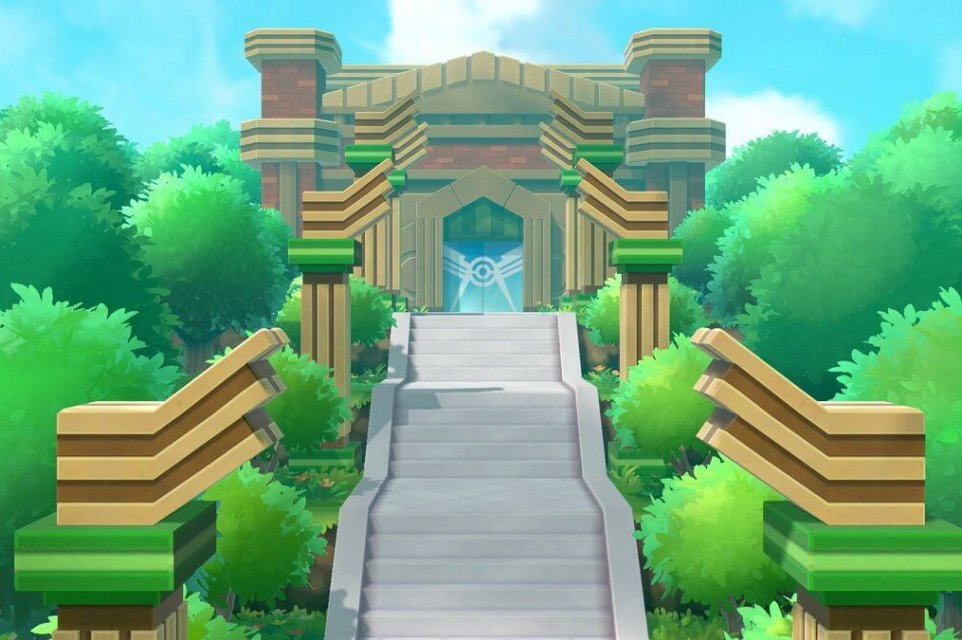 Liga Pokémon Let's Go