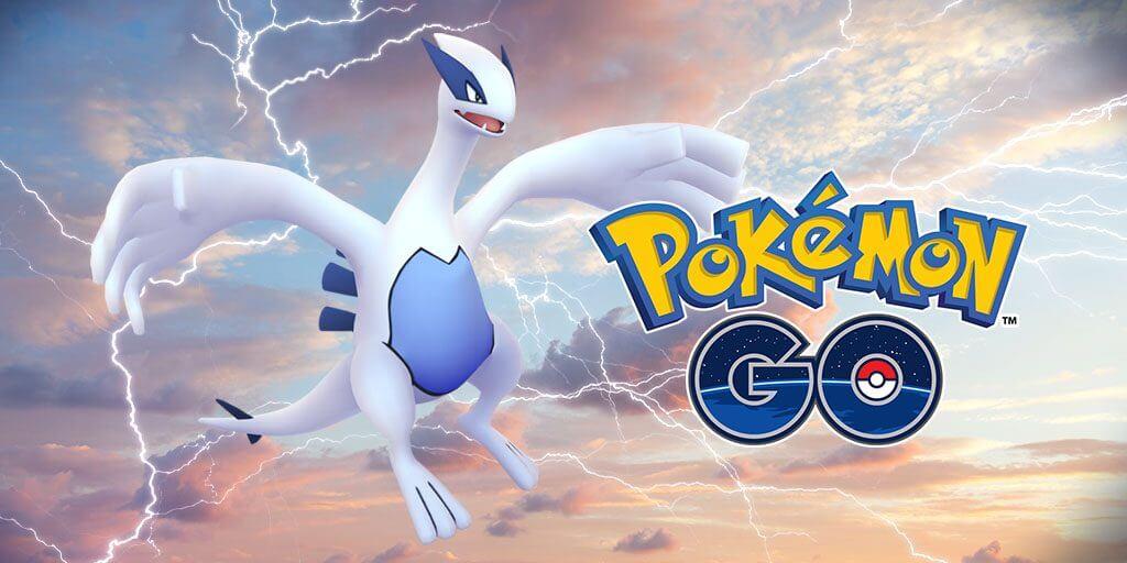 El Pokémon legendario Lugia volverá a las incursiones legendarias de Pokémon GO