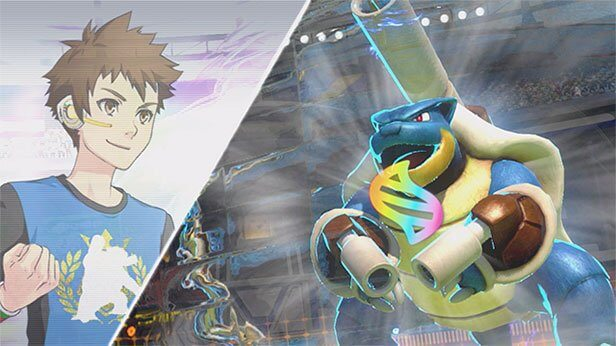 Mostrado el primer gameplay de Blastoise en Pokkén Tournament DX