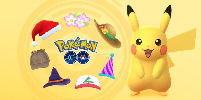 Pikachu irá apareciendo con todas sus gorras en agosto