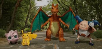 Playground Pokémon Detective Pikachu