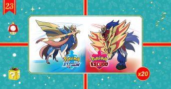 Pokémon Espada y Pokémon Escudo sorteo Nintendo Switch