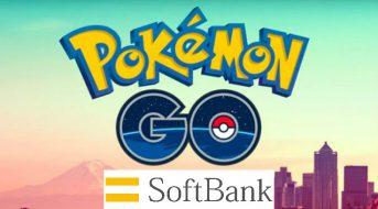 Pokémon Go se afilia con Softbank