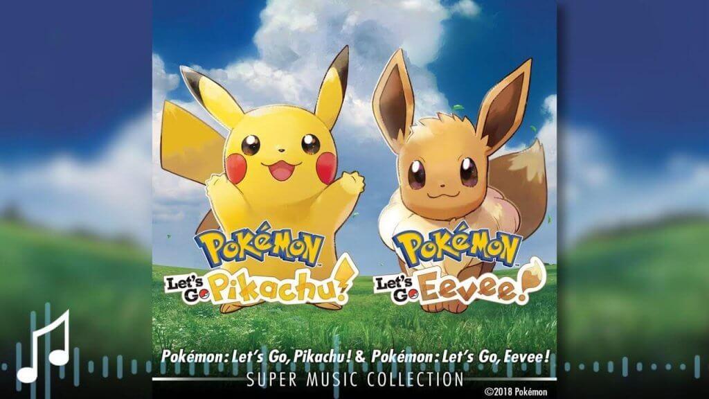 Ya disponible la Super Music Collection de Pokémon Let's Go!